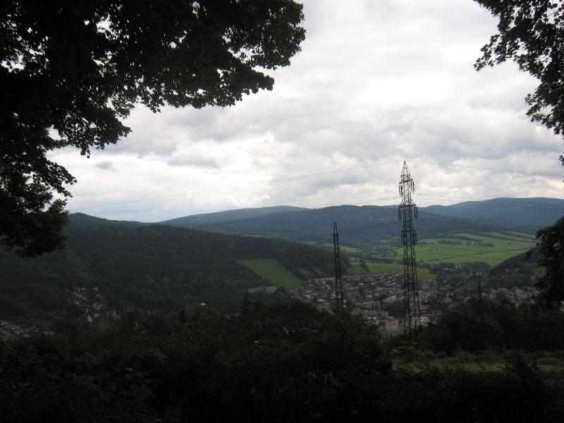 Góry w okolicach Jesenika