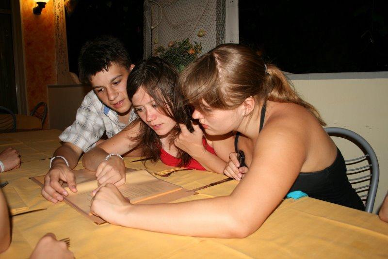 Obóz we Włoszech 2008