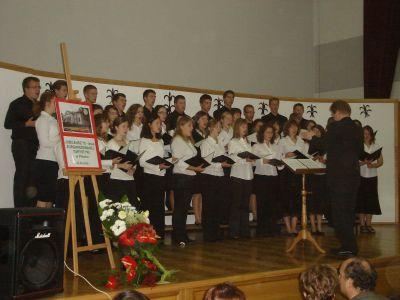 Koncert podczas jubileuszu turystyki zorganizowanej